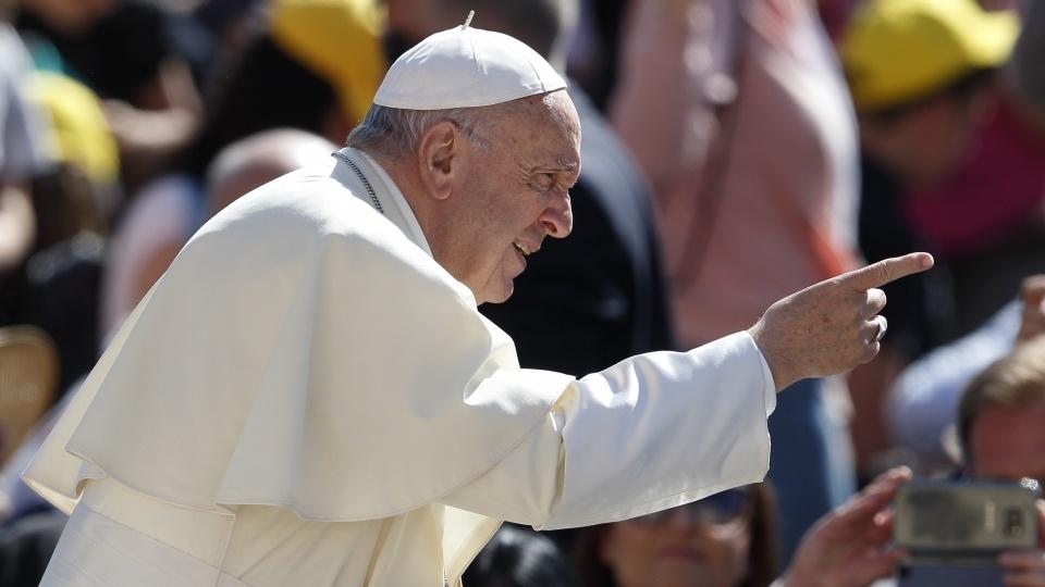教宗公開接見:接受基督信仰教育是孩子們的一項權利