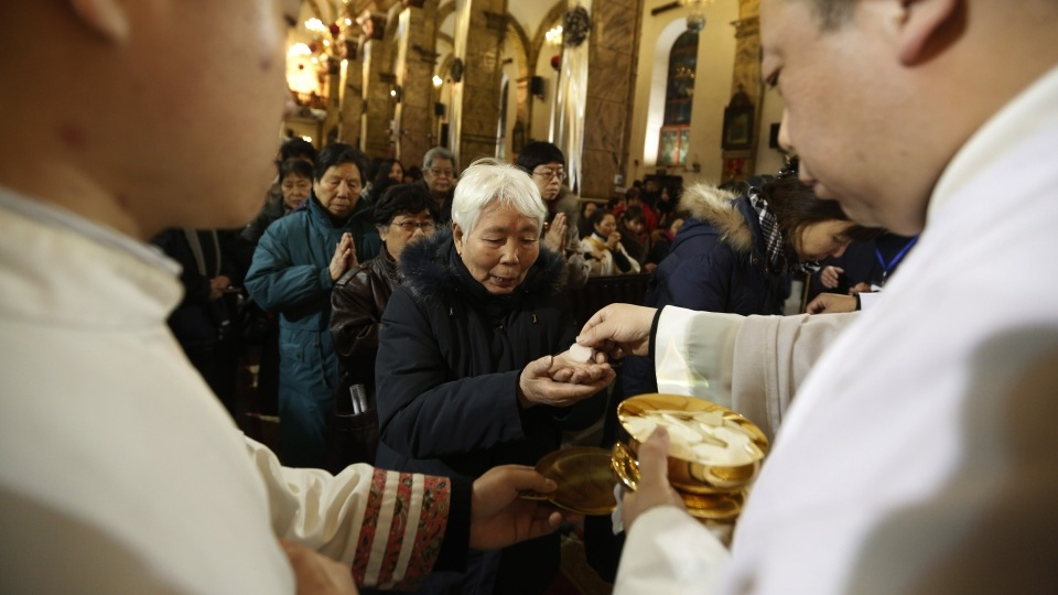 教宗為高尚的中國人民奉獻彌撒