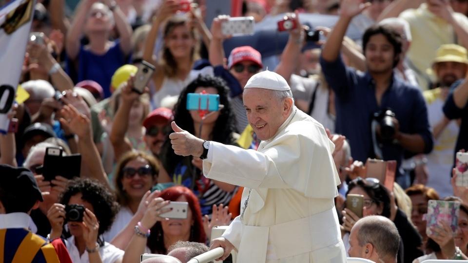 教宗公開接見:讓聖神來塑造我們,在今日世界映出耶穌基督