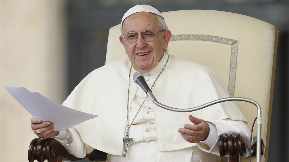 教宗公開接見:青年不該平庸度日,而應以健康的心態不安於現狀