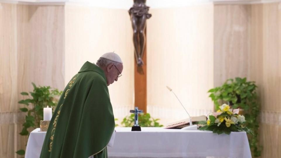 教宗:基督徒應為自己的仇人祈禱