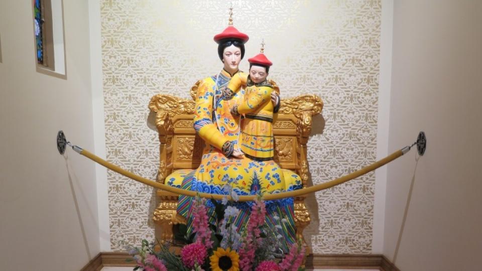 多倫多首尊「拯救聖母,中華皇后」聖母像