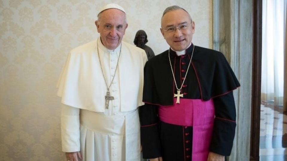 教宗方濟各任命任命新聖座副國務卿