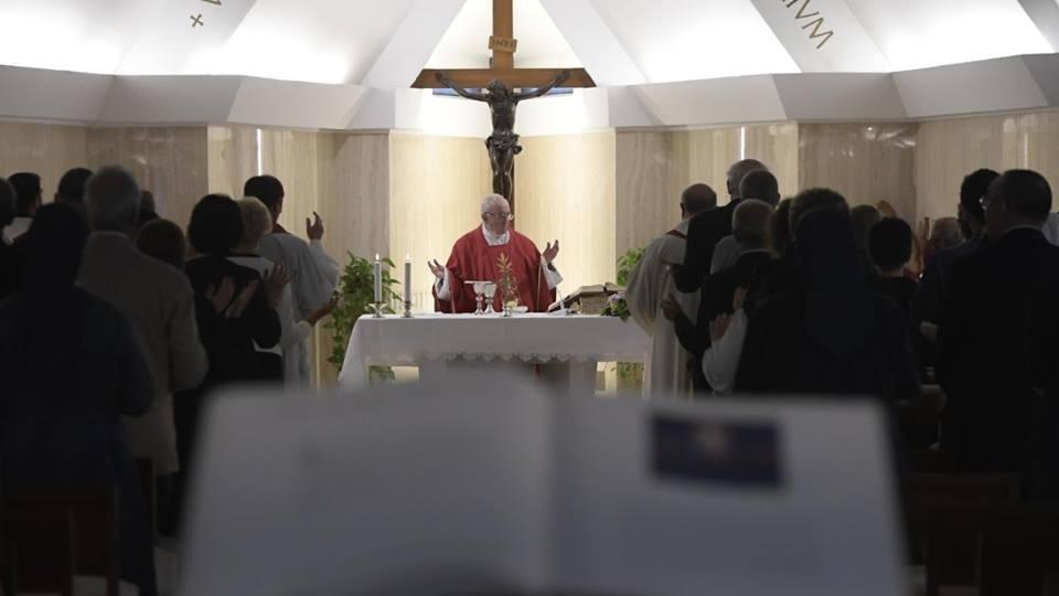 教宗:十字架教我們別怕失敗,因為隨之而來的是勝利