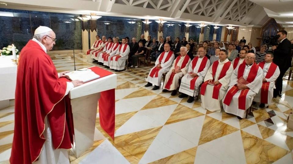 教宗:我們要永遠記住我們在哪裡蒙受了召選