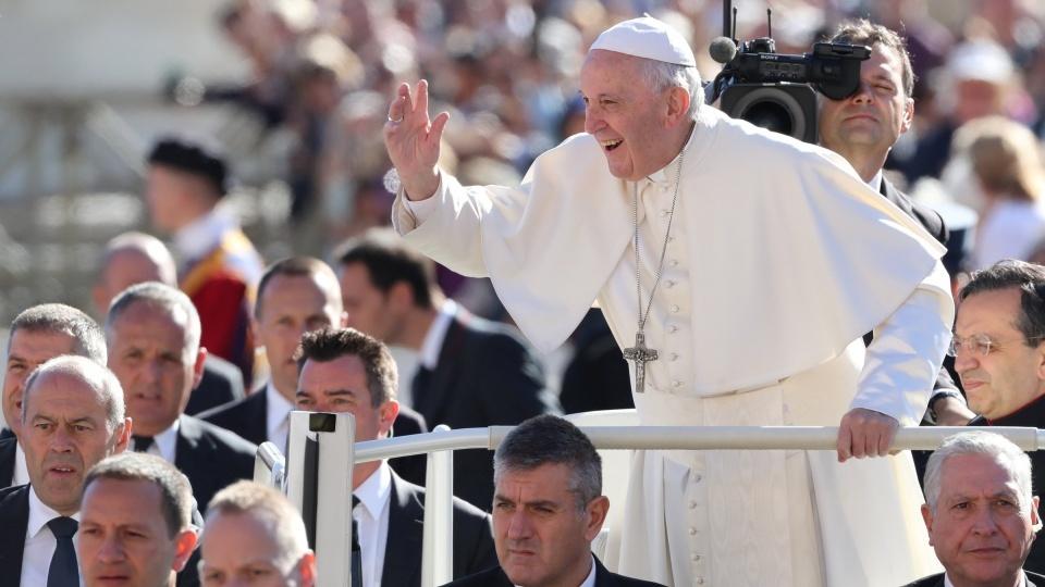 教宗公開接見:缺乏天主聖愛的自由,無法帶來生命的意義