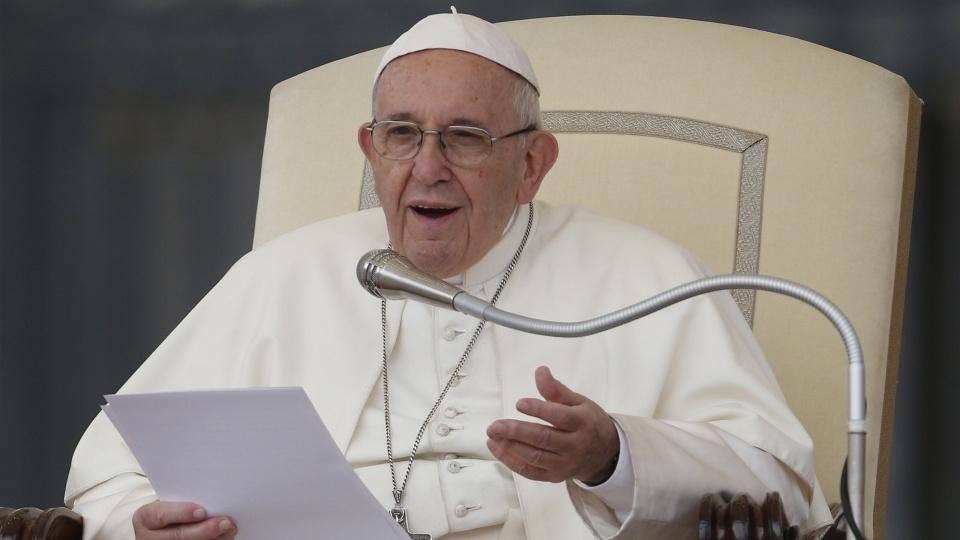 教宗公開接見:不可殺人是為了愛走出的第一步