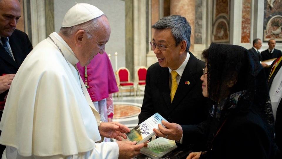 聖座新聞室:教宗並未有計劃訪問台灣
