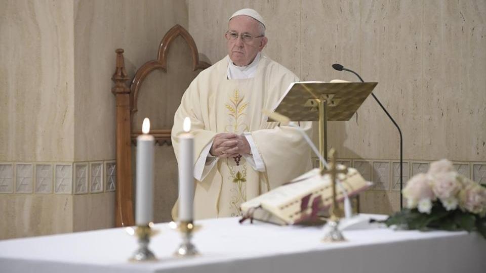 教宗:競爭和虛榮導致戰爭
