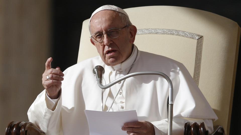 教宗公開接見:生命不是為了擁有,而是為了愛