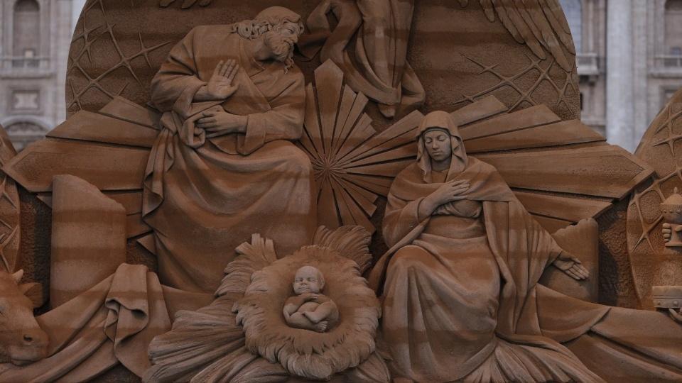 教宗:懷著信德的勇氣準備耶穌的聖誕