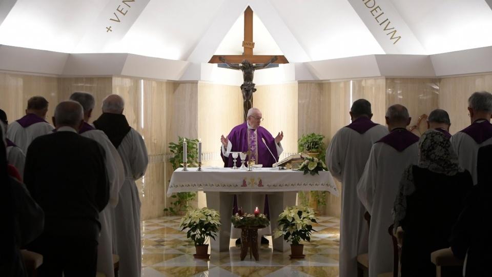 教宗:如同殉道者那樣,讓天主來安慰我們