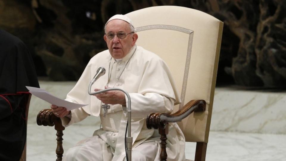 教宗公開接見:祈禱就是發自内心向天父祈求
