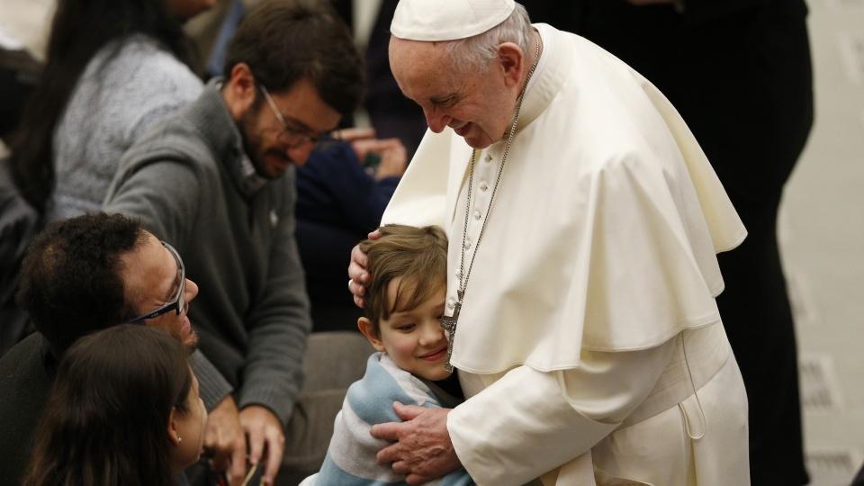 教宗公開接見:堅持祈禱,天主必將予以俯聽