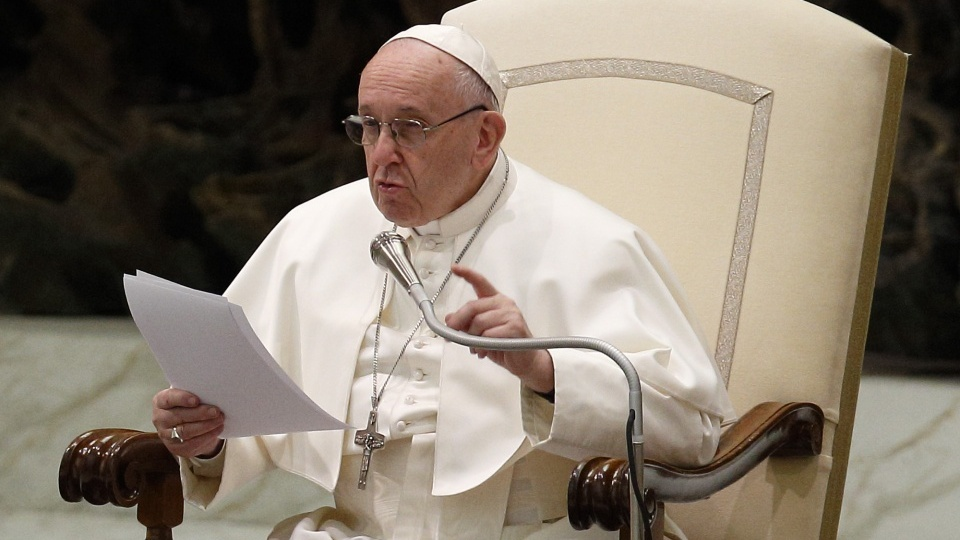 教宗公開接見:向天主祈禱應如同兒童依恃父親那樣