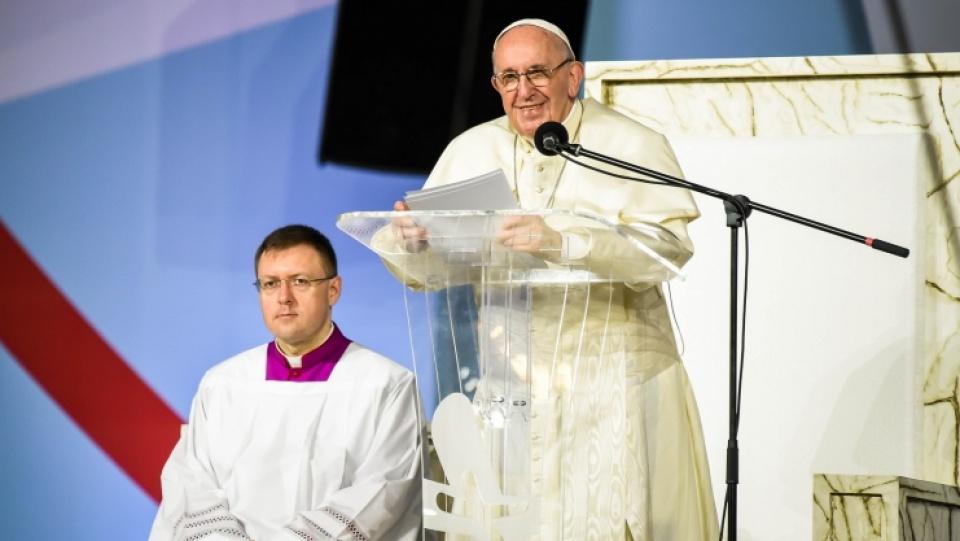 教宗主持巴拿馬世青節守夜祈禱