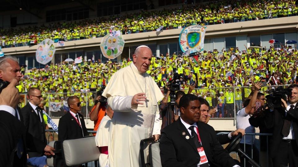 教宗感謝巴拿馬世青義工的慷慨奉獻