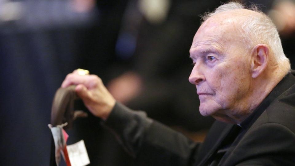 教義部裁定麥卡里克性侵罪成被撤聖職身份