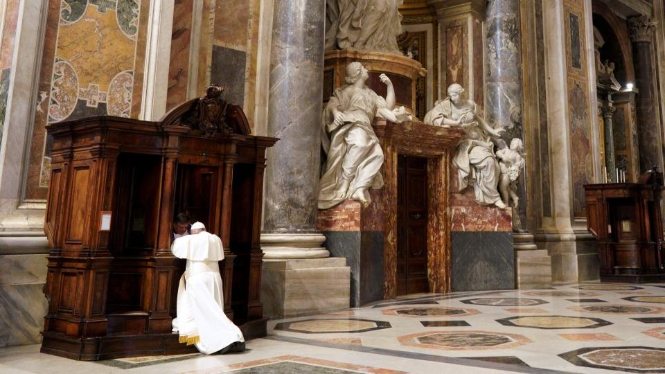 教宗與懺悔:憐憫因罪惡而受傷的心