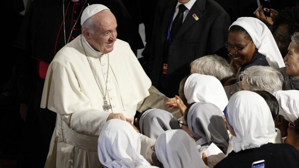 教宗接見摩洛哥聖職人員