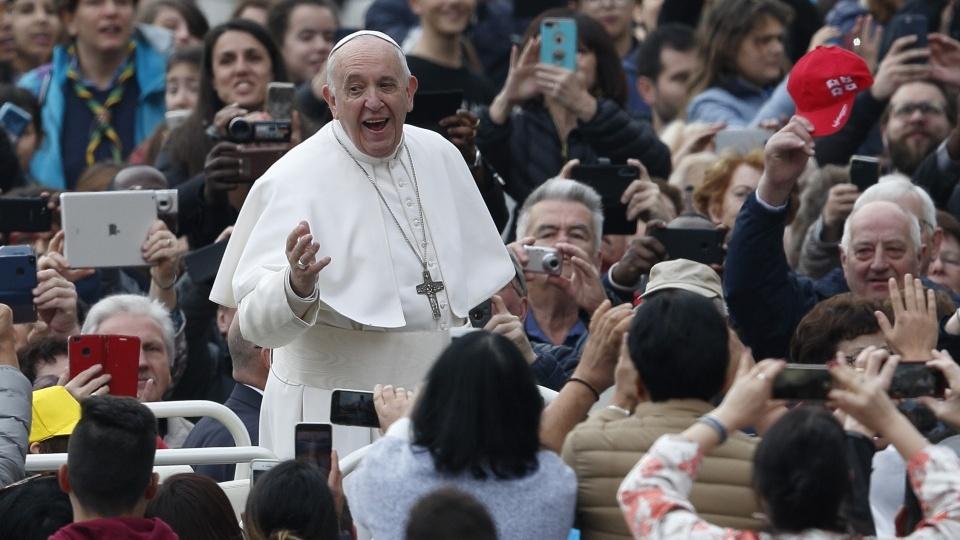 教宗公開接見:為希望服務意味著在不同文明之間搭橋