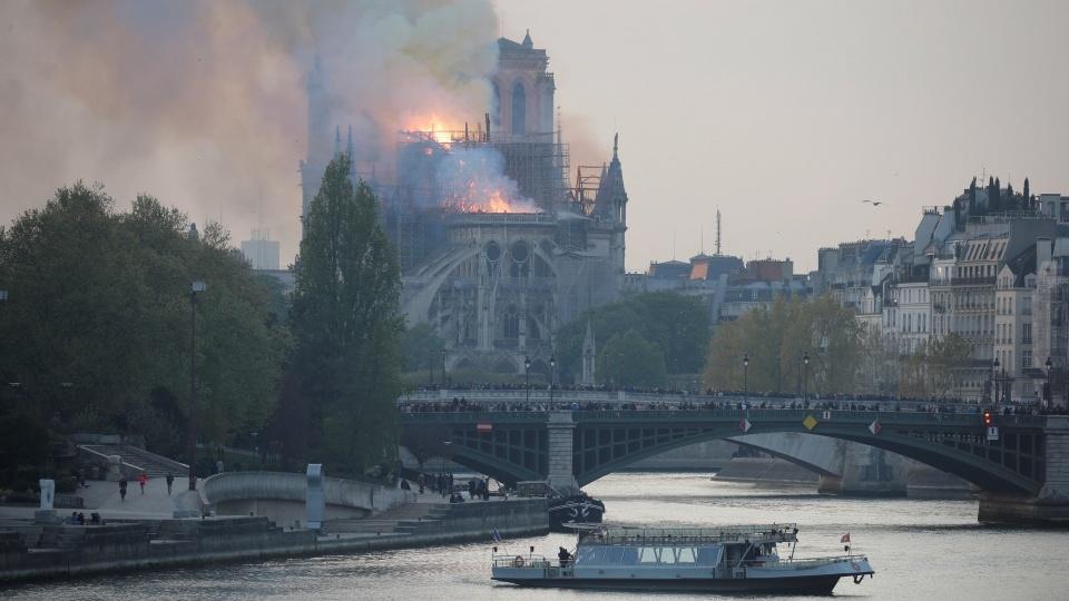 教宗致函慰問巴黎總主教