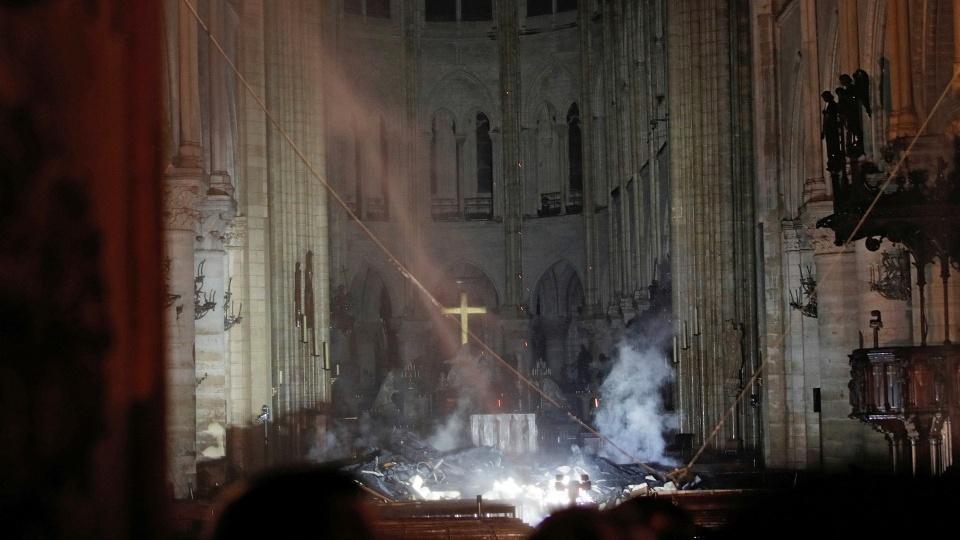 法國巴黎聖母主教座堂大火的默想