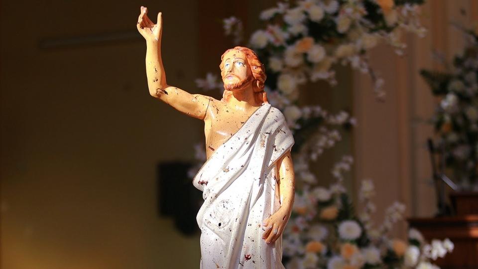 教宗方濟各慰問斯里蘭卡基督徒團體