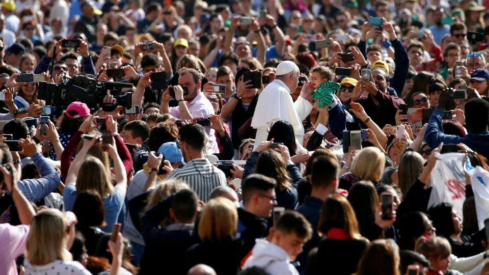 教宗公開接見:寬恕他人,正義不能解決一切問題