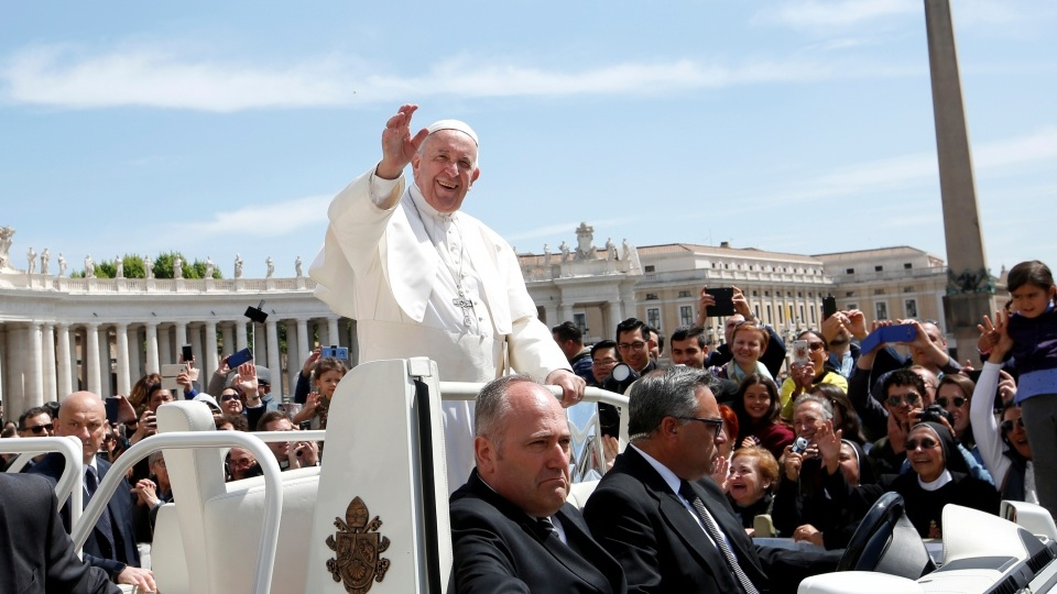 教宗公開接見:願聖母瑪利亞護佑保加利亞和北馬其頓