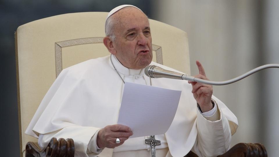 教宗公開接見:邪惡如同咆哮的獅子,但耶穌救我們免遭其害