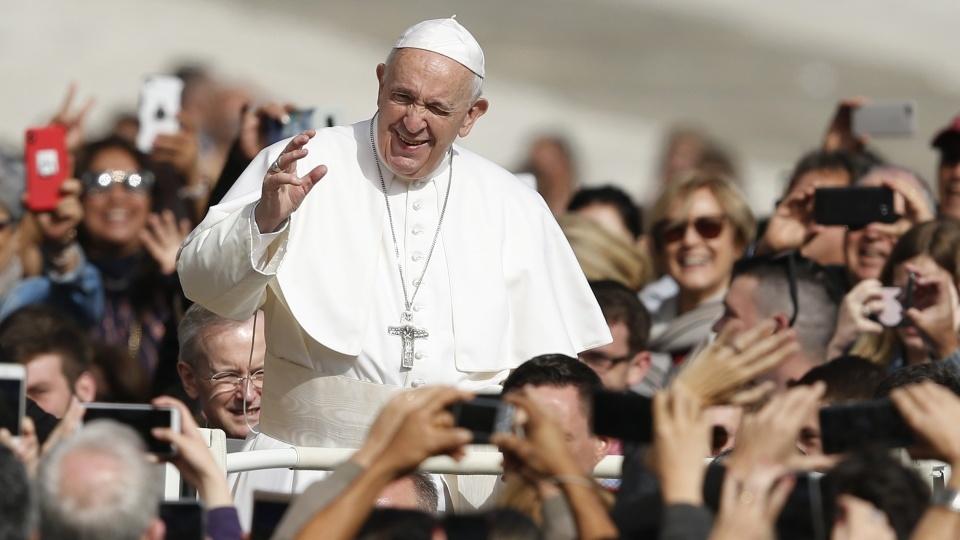 教宗公開接見:救恩是一項恩典,不是付錢就能買到