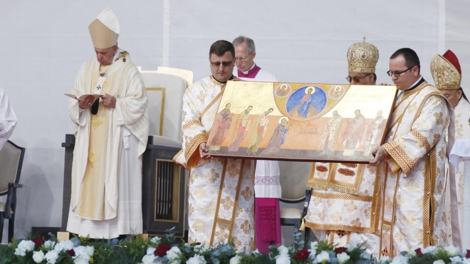 教宗在羅馬尼亞冊封7位殉道的希臘禮天主教主教為真福