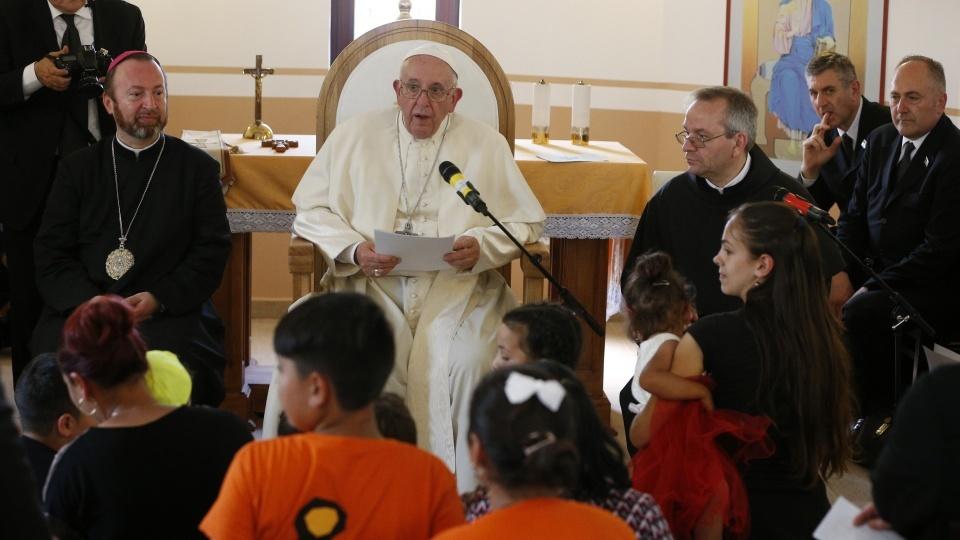 教宗向羅姆人請求寬恕