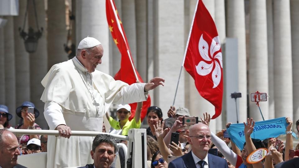 教宗公開接見:做基督的見證人,克服自我封閉