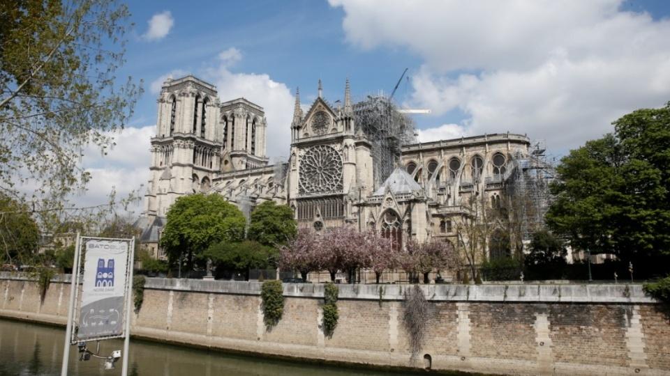 巴黎聖母主教座堂失火後將舉行首台彌撒