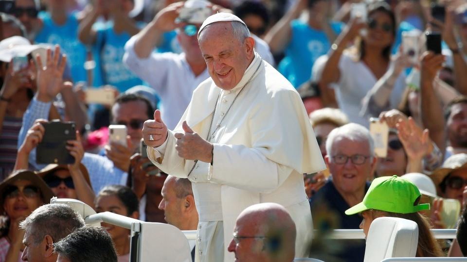 教宗公開接見:天主愛的火焰,聖言的威能
