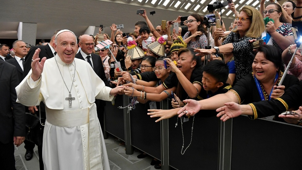教宗公開接見:我們憑藉什麽能使他人擁有豐富的生命?