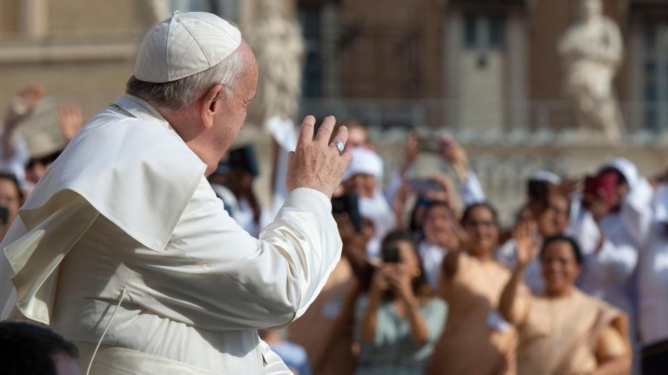 教宗公開接見:教會是照顧病患的移動醫院