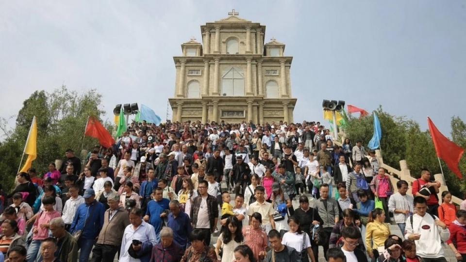 山西當局要求太原教區拆除洞兒溝七苦山聖母朝聖地部分建築