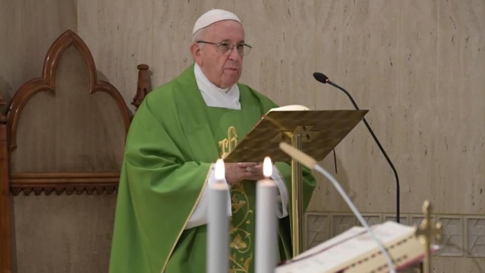 教宗:憐憫也是天主的語言
