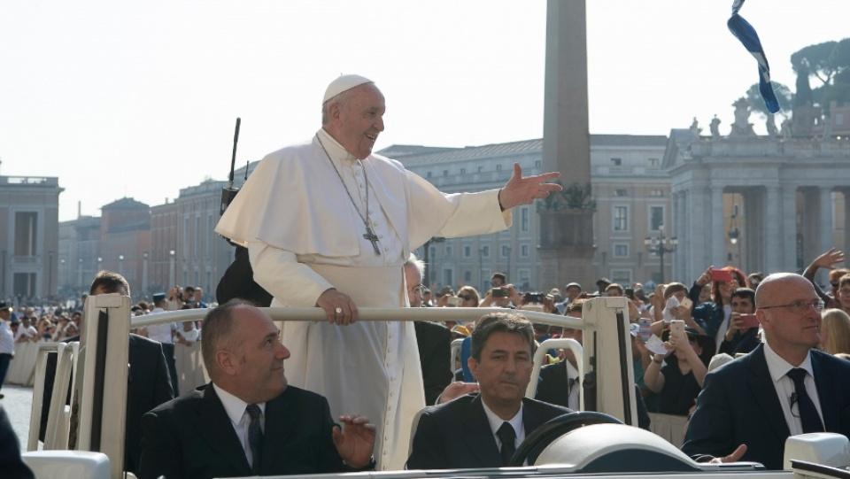 教宗公開接見:唯有天主許可的事物才能持久