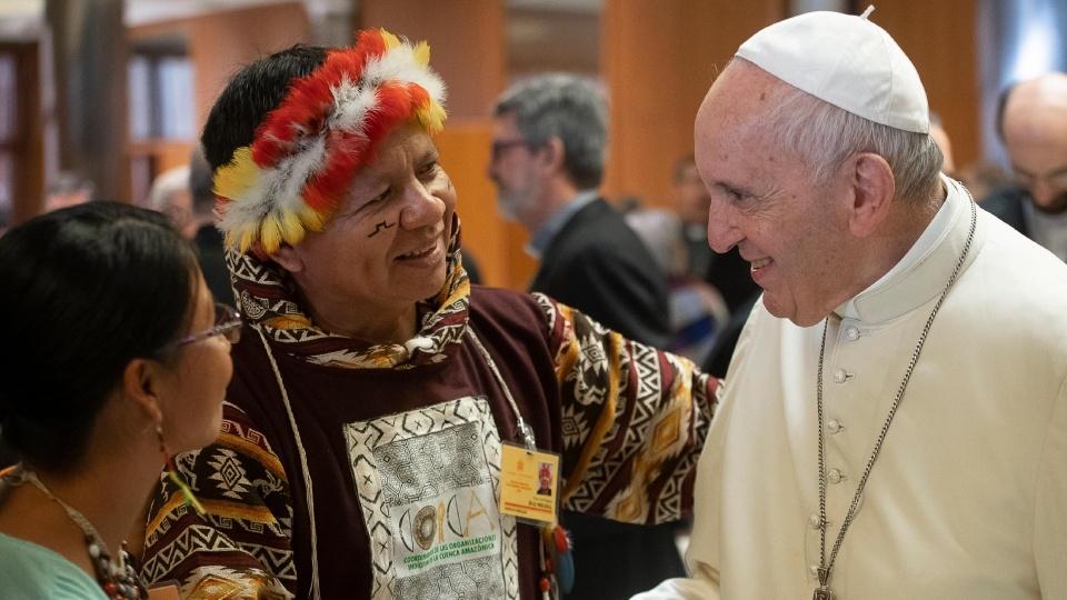 世界主教會議新聞簡報2019年10月10日:教會的原住民面容以聖言的服務者為起點