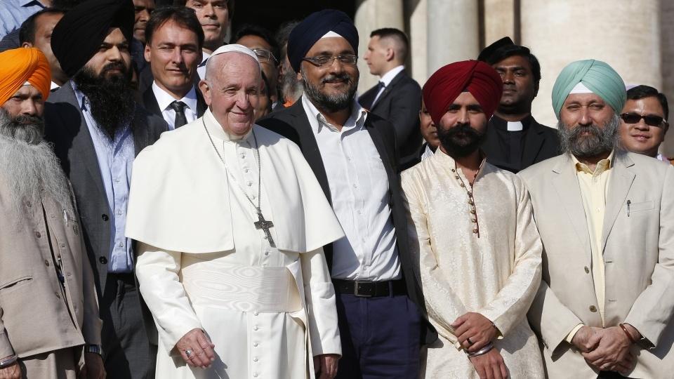 教宗公開接見:教會不是堡壘而是接納衆人的帳幕