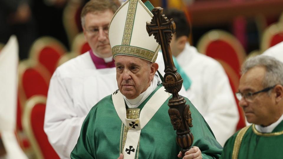 教宗主持泛亞馬遜世界主教會議閉幕彌撒