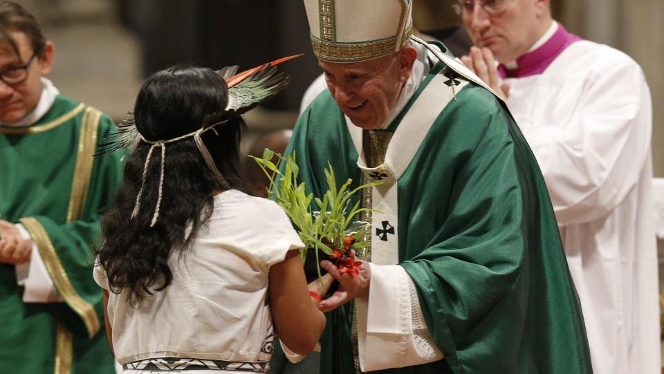 世界主教會議新聞簡報2019年10月26日:亞馬遜地區及人民始終在教宗和教會的心中