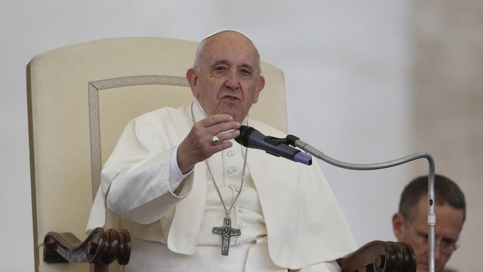 教宗公開接見:聖神解開我們心靈的枷鎖