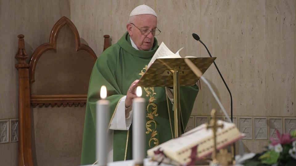 教宗:天主等待所有的人去赴祂無償的盛宴