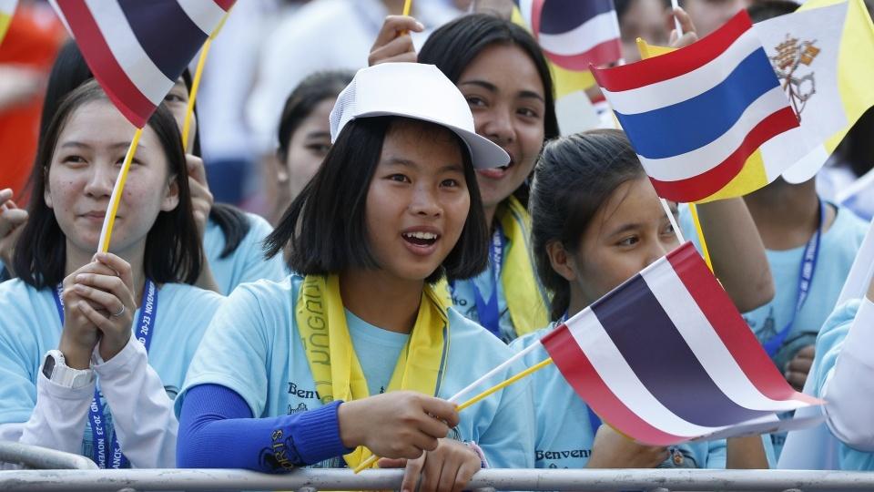 教宗在曼谷為青年主持彌撒