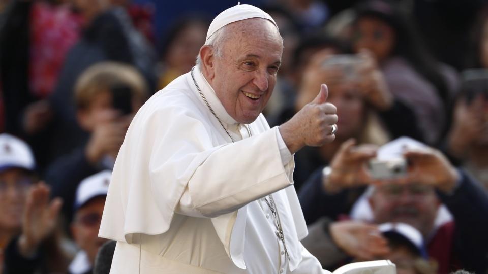 教宗公開接見:在泰國和日本的訪問是個恩典
